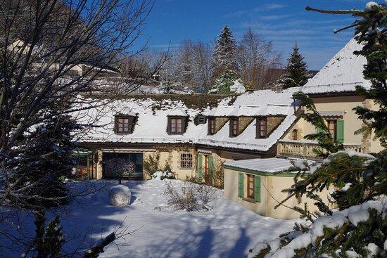 La Lauzeraie sous la neige