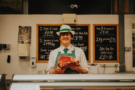Greendale's butchers prepare all our meat on-site at the farm shop using meat from our own farm. With years of experience, they are always on hand to help customers with expert advice about choosing the right cut of meat and the best way to cook or prepare it.