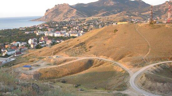 Вид с горы Верблюд
