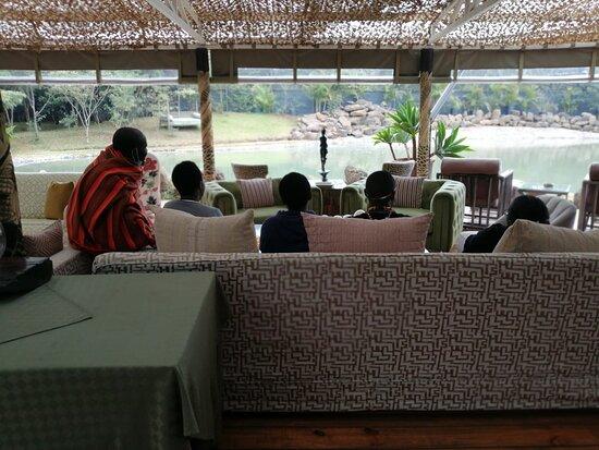 Eden Nairobi- Lounge area