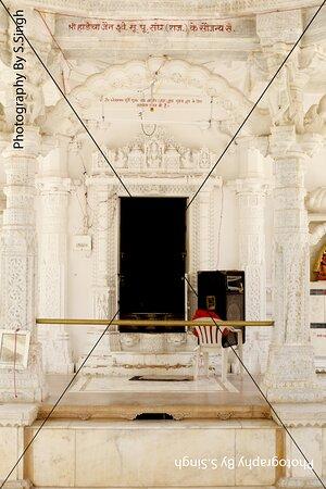 Marble carving decorative pillars , ceiling , Jain Temple, Shri Mandavgarh Teerth , Mandu , M.P. India