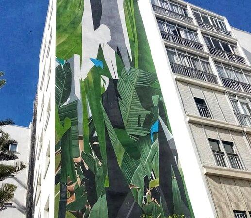 Beautiful murals round town