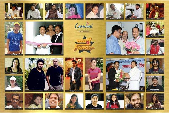 Celebrities at Carnival Resort