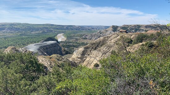 The overlook from Caprock Coulee Trail