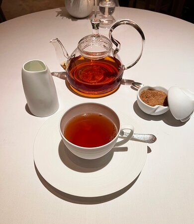 A little Assam tea to end an EXCEPTIONAL Meal