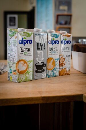 Vegan or lactose-intolerant?  Not to worry! We have milk for every need.