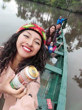 Estuvimos en el lago sandoval!!! Es un lugar imperdible!