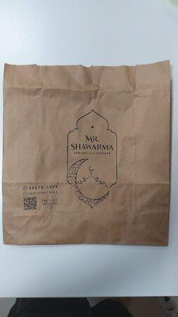 Mr, Shawarma delivery
