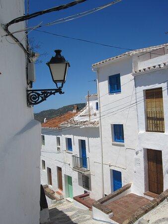 Frigiliana, España: Old Town streets