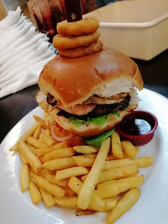 Cant go wrong with this Burger