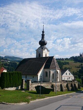 St. John the Baptist church in Šentjanž pri Dravogradu.