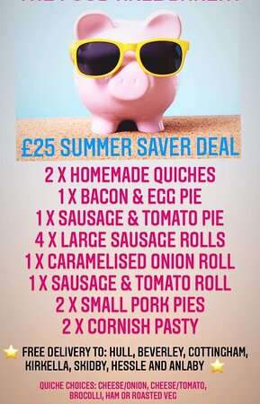 Great Delivery Deal - 2021 www.Facebook.com/thefoodhallcottingham