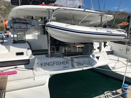 We have traveled to many locations in the world but traveling by a catamaran, Kingfisher, for a week ranks at the top of all our vacations! The boat was beautiful and perfect for two couples and two teenagers. Our skipper, Nikola, was superb!! He was professional, informative, friendly, and informative. Thanks for a fantastic vacation!!