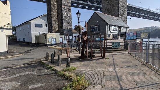 Ferryman Sculpture