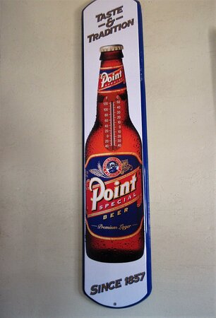 Point: special beer.