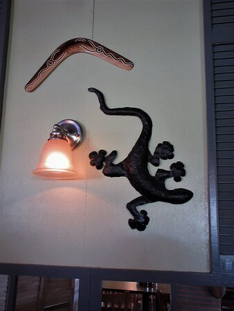 Wall decoration.