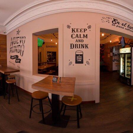 Keep Calm And Drink !   Ven a Nuestro Bar y Disfruta de Las Mejores Cervezas Artesanales Peruanas..