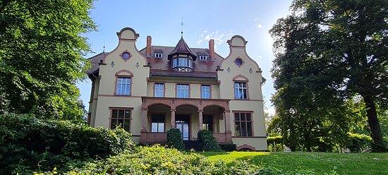 Truman-Villa -  per Fahrrad durch die Villenkolonie Neubabelsberg