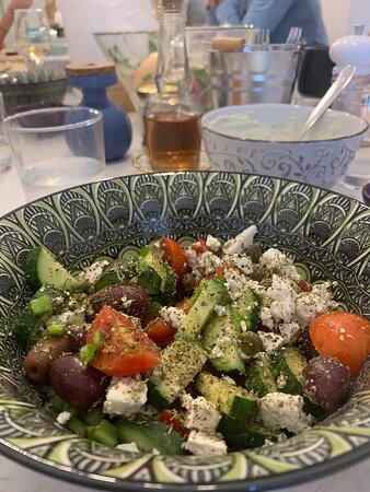 Petra Kouzina Cooking Experience: Greek Salad