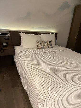 Location is great, hotel is newer.