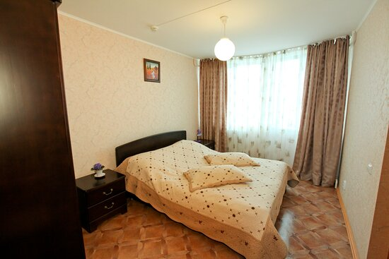 Люкс двухкомнатный. Спальная комната.