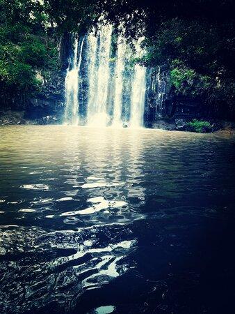 Private Full-Day Local Waterfalls Experience in Curubande: Llano del Cortez