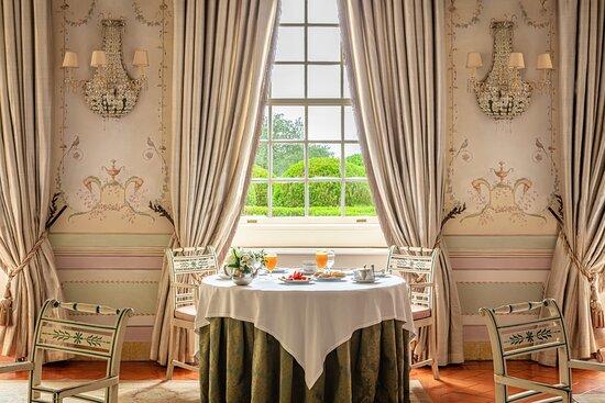 Tivoli Palacio De Seteais Restaurant Seteais Breakfast Table Window