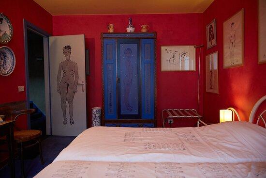 Unieke kamer ingericht door schilder Rik Vermeersch
