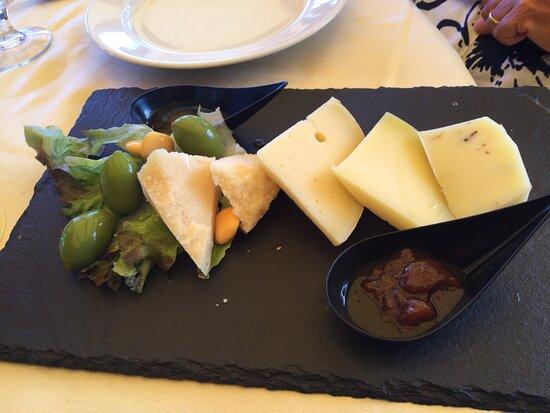 Misto di formaggi