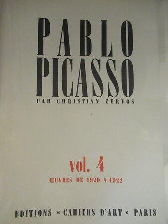 Cahiers d'art, volume 4 dédié à Pablo PICASSO