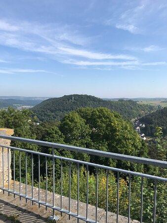 Uitzicht Buttenturm Obermarsberg