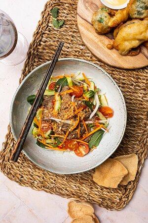 Thai Beef Salad. Coeliac Friendly!