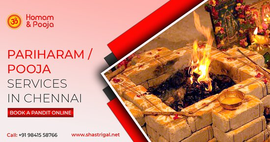 Chennai (Madras), India: Call us on +91 98415 58766 & Book a Pandit for Pooja to perform Pariharam or pooja services in Chennai. Homam/Pooja performed as per vedic standards. Enquiry now our puja services.    Know more: https://www.shastrigal.net  #OnlinePoojaBookingTamilnadu #OnlineTemplePoojaBooking #OnlinePoojaBookingChennai #HomamBenefits #PoojaAndHomam #HomamAndPoojaService #BookPandit #OnlinePujaService #Shastrigal #Chennai