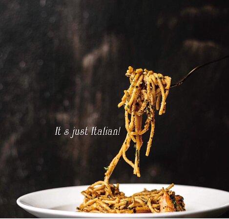 Pasta only at Just Italian Ristorante