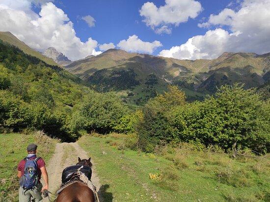 "Mestia, Georgia: Horse-ride ""Lemel"" with Svaneti Spirit"