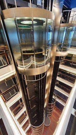 Silja Europa - Panorama lifts