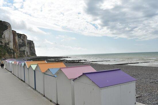 Le Treport, فرنسا: Spiaggia
