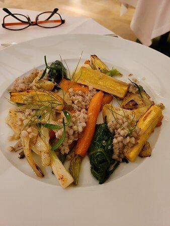 Main vegetarian dish