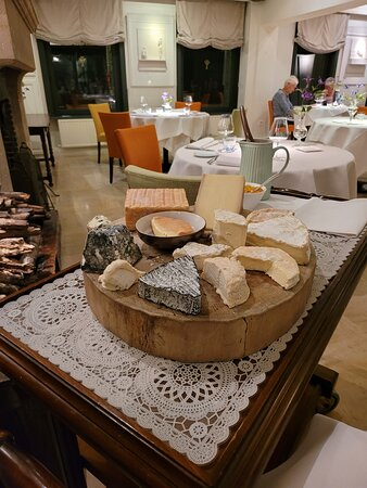 Cheese to choose from for the cheese platter