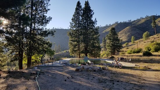 Lowman, ID: Large hot spring (public access for a fee, and guest access for a reduced fee)