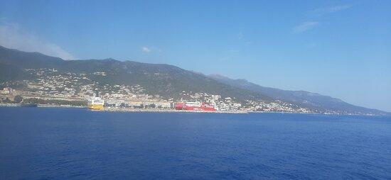 Avvistamento porto di Bastia