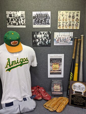 Argentine Eagles team photos on display in the Mexican American Fast Pitch Softball exhibit on display from Sept 15-Nov 15, 2021.