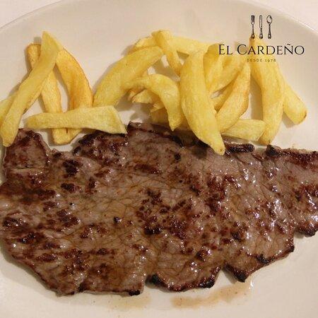 Carnes en el Menu de mediodia en El Viso Madrid