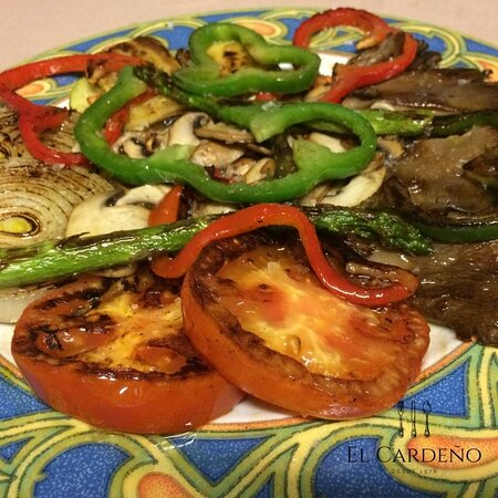 Verduras Pescado en el Menu de mediodia en El Viso Madrid