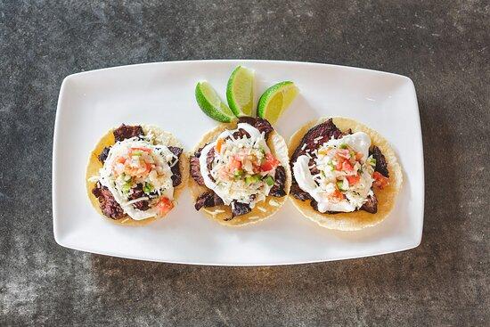 Steak Street Tacos with Housemade Corn Tortillas