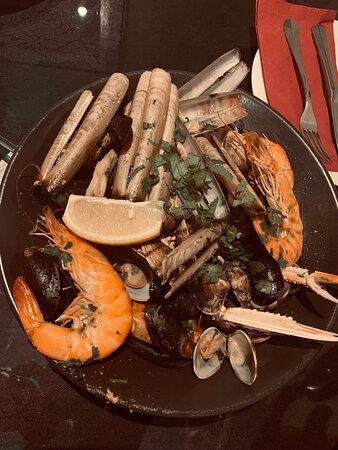 Mixed Seafood for 2 people (best get some bread for the sauce)