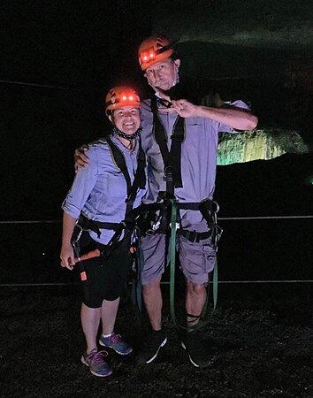 Fun at the caverns