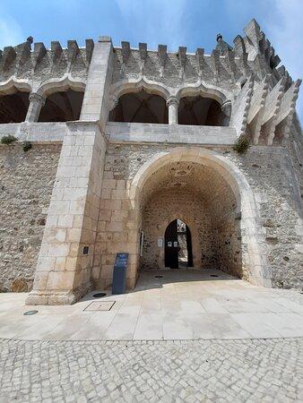 Exterior do castelo