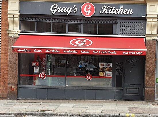 London, UK: Shop front view