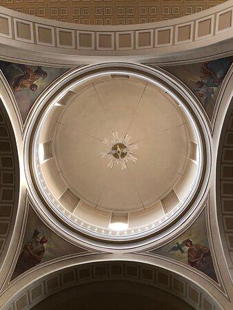 La cupola …. con gli Affreschi !